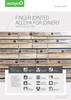 Accoya Finger Jointed Information