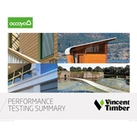 Accoya Performance Testing Brochure