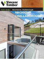 Western Red Cedar Case Study - Beachdown, Challaborough