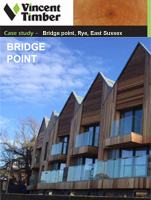 Western Red Cedar Case Study - Bridge point, Rye, East Sussex