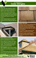 Cedar Shingles Product Brochure
