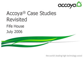 Accoya Case Study - Fife House