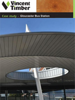 Western Red Cedar Case Study - Gloucester Bus Station