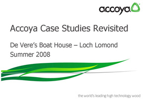 Accoya Case Study - Boathouse revisited