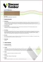 Siberian Larch Data Sheet