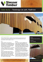 Tropical Hardwood Case Study - Travelodge car park