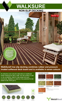 Walksure Decking Product Brochure