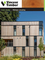 Siberian Larch Case Study - Welwyn Housing