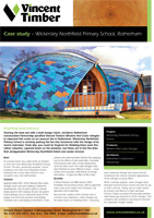 Cedar Shingles Case Study - Wickersley Northfield Primary School