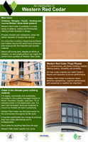 Western Red Cedar Product Brochure