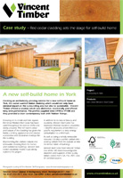 Western Red Cedar Case Study - Self Build Home