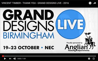 Grand Designs 2016 Thank You Video